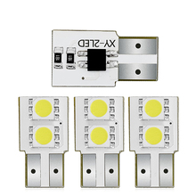 цена на 4PCS LED Car Clearance Lights T10 W5W width light 194 168 lamp white 6000k 12V