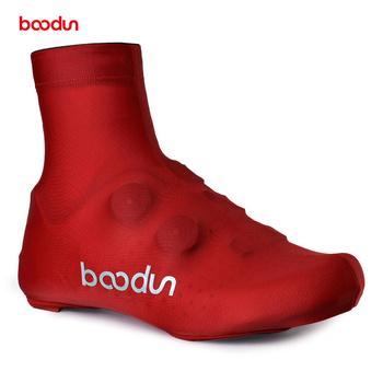 BOODUN 3 kolory S-XL mężczyźni kobiety elastyczna oddychająca but kolarski pokrywa górski rower szosowy MTB pokrowiec na buty Lycra rowerowe ochraniacze na buty tanie i dobre opinie CN (pochodzenie) Stretch Spandex Dobrze pasuje do rozmiaru wybierz swój normalny rozmiar PRK301374 Red Yellow black