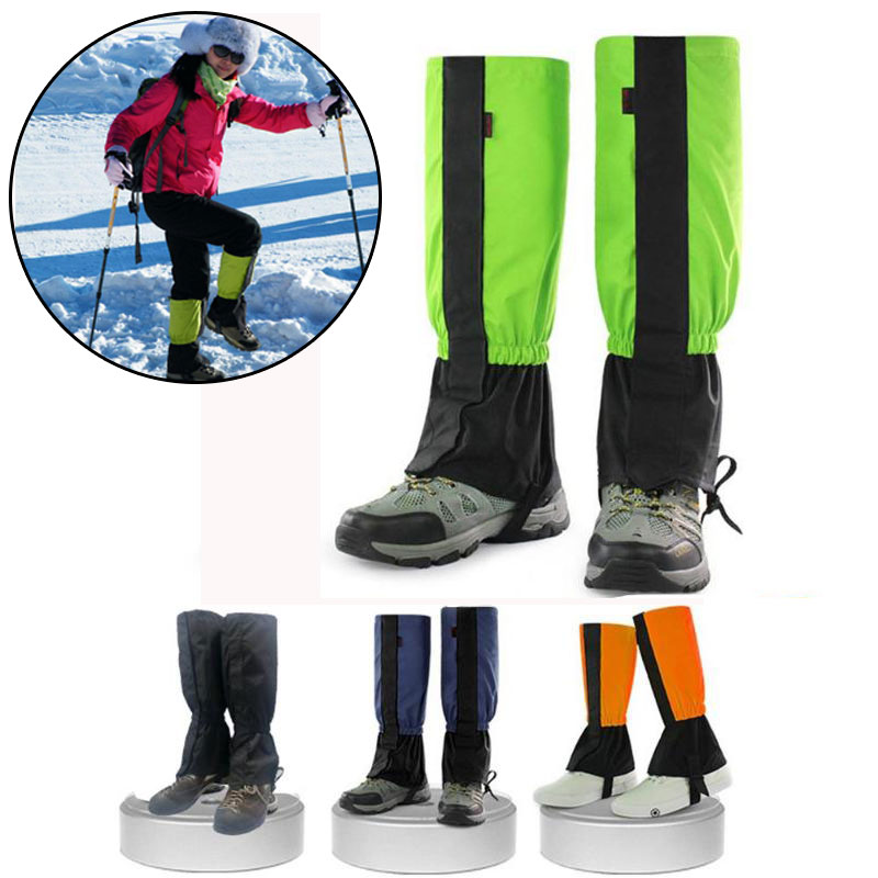 Hiking Snow Skiing Legging Gaiters Waterproof Leg Protection Guard Cover Outdoor Snow Kneepad Skiing Hiking Ski Legging| |   - AliExpress