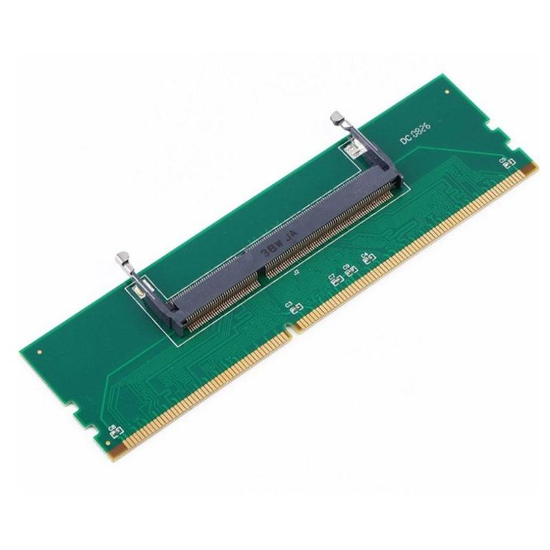 DDR3 Laptop 200 Pin SO-DIMM To Desktop 240 Pin DIMM Memory RAM Connector Adapter DDR3 Adapter Laptop Internal Memory To Desktop