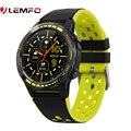 LEMFO Smartwatch GPS Mit Sim Karte Sport Smart Uhr Männer Für Android Herz Rate Monitor IP67 Wasserdichte M7S 2021