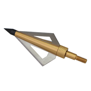 Image 3 - 12pcs 125 Grain Stainless Steel Archery Broadheads Sharp Arrow Head Hunting Arrow Tips for Shooting Compound Bow and Crossbow