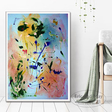 Posters and Prints Jackson Pollock Abstract Painting Poster Wall Art Picture Canvas Painting for Room Home Decor tanie tanio Eric and May Płótno wydruki Film Unframed Oddzielne Nowoczesne Waterproof Ink Malowanie natryskowe Pionowe Prostokąta