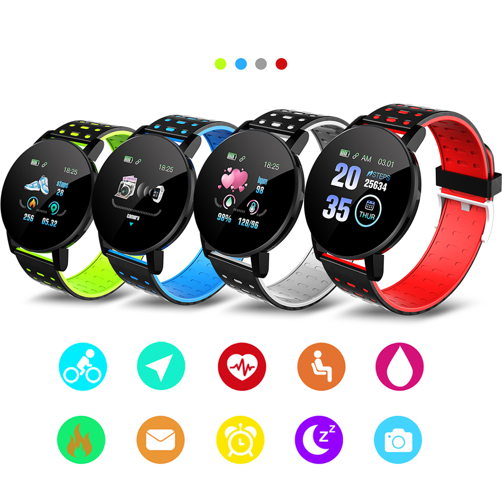 Bracelet intelligent Bracelet femmes hommes Sport Fitness Tracker montre Bluetooth 4.0 Bracelet pour iPhone Android Windows système Microsoft 3