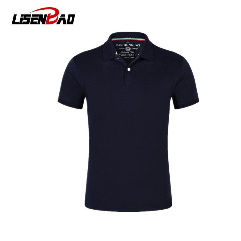 LiSENBAO Brand New arrival Men Polo Shirt High Quality men polo shirt men short sleeve jerseys Summer Mens polo Shirts LS-1806