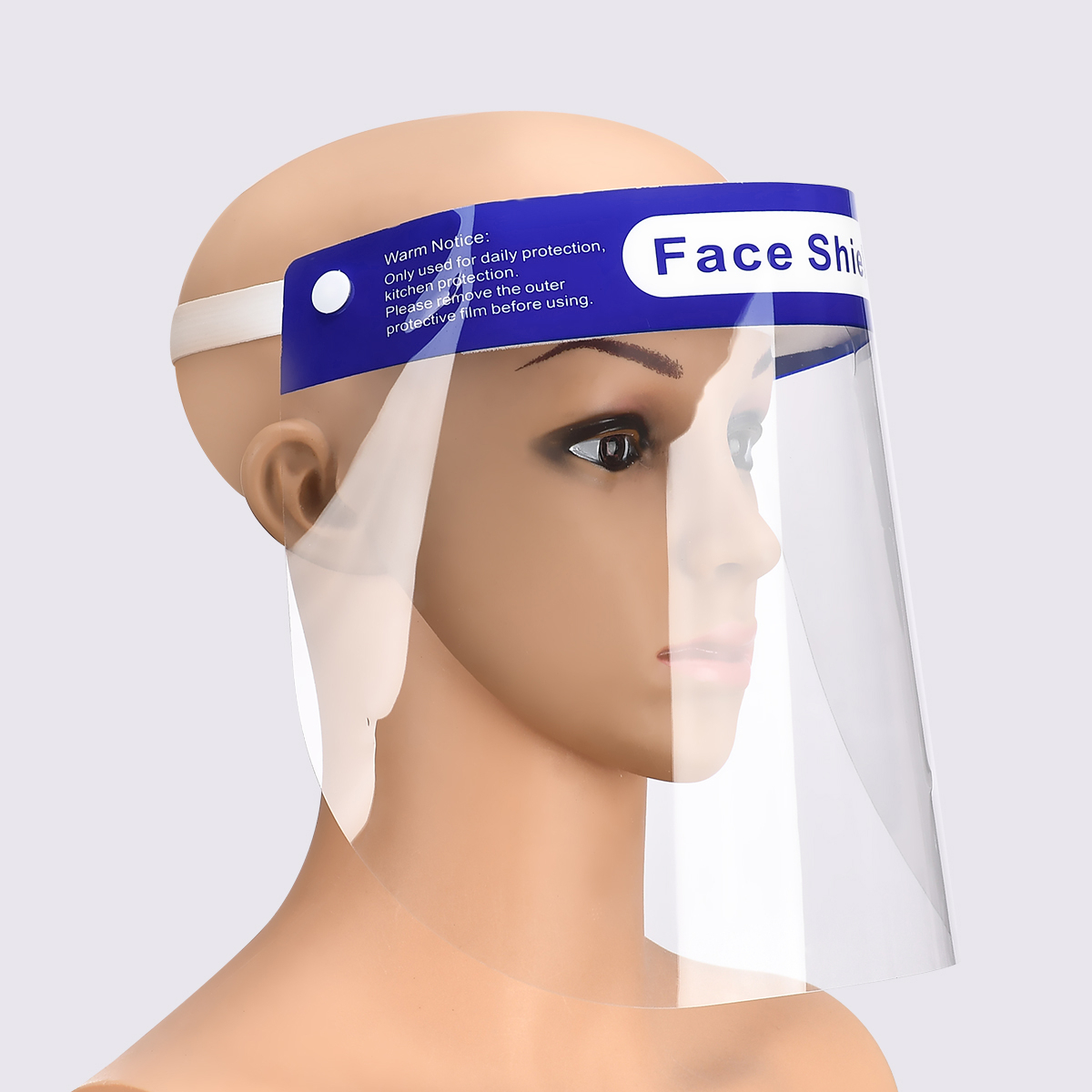 Face Care Protection Shield Protect Eyes Mouth With An Elastic Protective Film Tape A Comfort Sponge Health Cover Face Shield