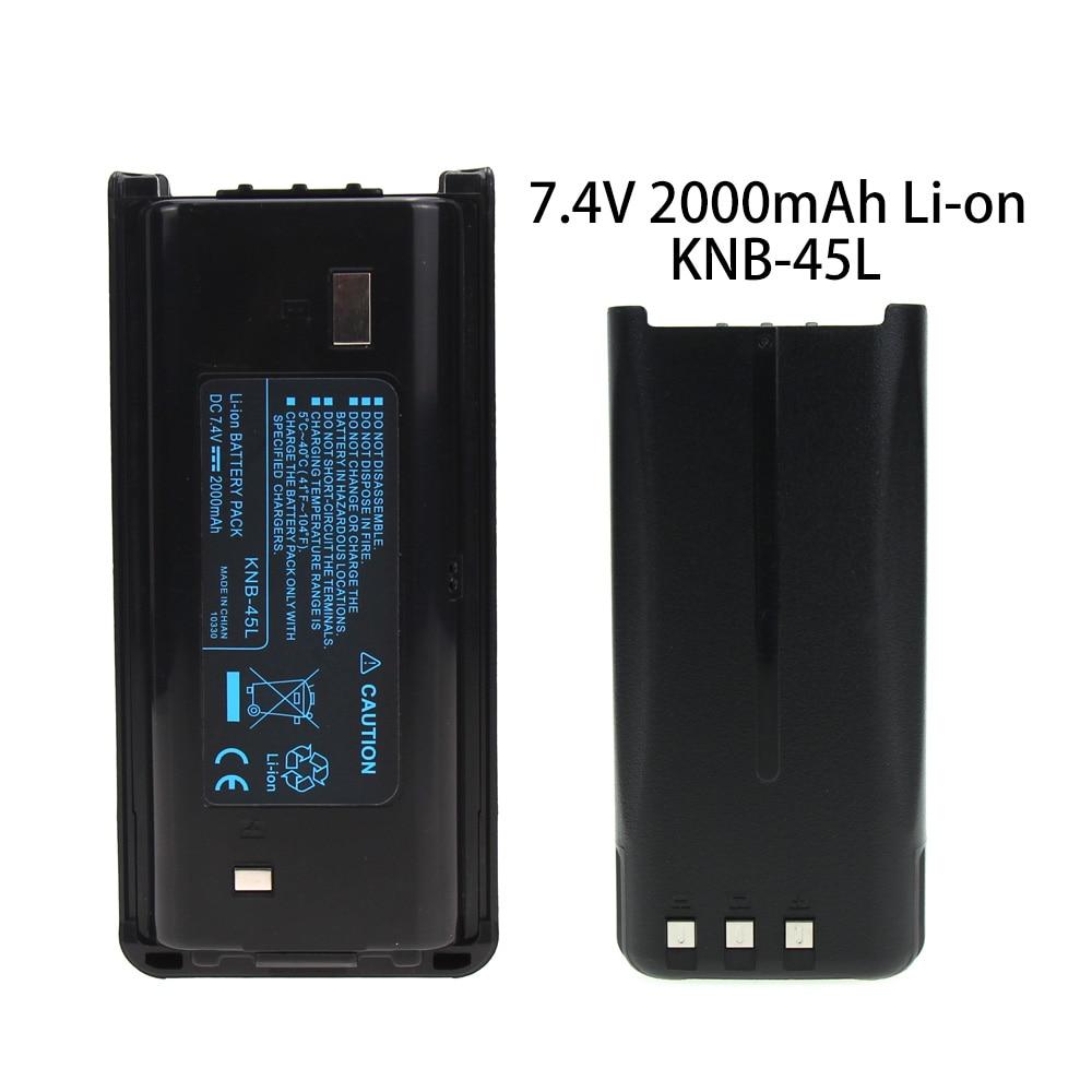 10x 2000mA KNB-45L Battery for KENWOOD TK-3200L TK-2200LP TK-2212L TK-3212L