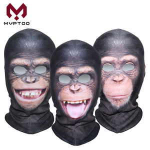 3D Animal Motorcycle Face Mask