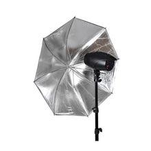 33 дюйма Диаметр вспышки зонтик-рассеиватель складной портативный Крытый Открытый фотографии софтбокс Отражатель черный и белый прочный