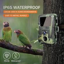 Mini câmera de caça trilha 20mp 1080p animais selvagens floresta câmeras caçador selvagem cam mini600 foto armadilha vigilância rastreamento