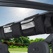 Классические аксессуары черный Utv большая рулонная клетка органайзер для хранения сумка-карго Легкая установка наружные аксессуары для большинства полноразмерных