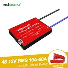 BMS 4S 12V 10A 20A 30A 40A 50A 60A LiFePO4 배터리 팩 용 리튬 충전지 (방수 기능 포함)