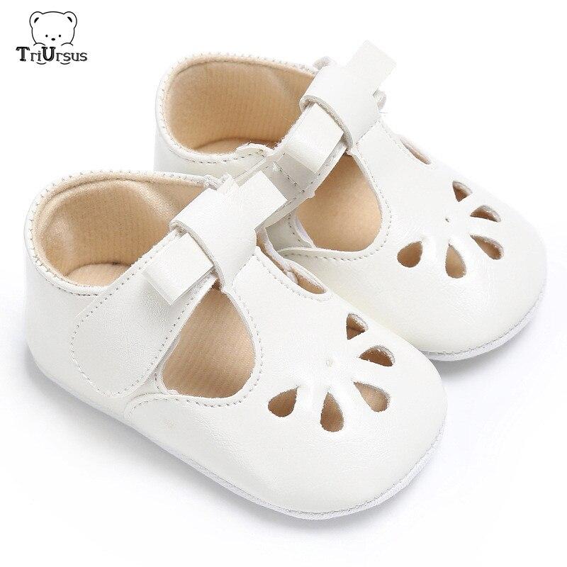Triursus Baby Girls White Sandals 2020