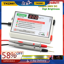 TKDMR LED מנורת חרוז תאורה אחורית בוחן לא צריך לפרק LCD מסך כל LED רצועות אורות תיקון מבחן פלט 0 300V