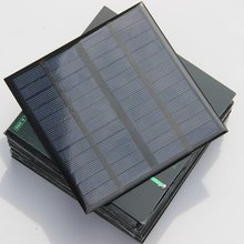 3W 12V Solar Cell Polycrystalline Solar Panel  Solar Power Battery System Charger Education kits Epoxy 10pcs buheshui 1w 4v solar panel with base solar cell for 1 2v 2xaa 2xaaa rechargeable battery charging directly 10pcs high quality