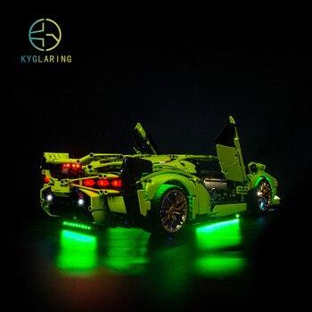Kyglaring Led  Light Kit For LEGO 42115  Sián FKP 37 42115 ( only light kit included)