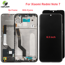For Xiaomi Redmi Note 7 LCD Display With Frame Touch Screen Digitizer Replacement Assembly For Redmi Note 7 Pro Display Tested for xiaomi redmi note 5 pro lcd display touch screen frame new digitizer replacement assembly for redmi note 5 display 10 touch