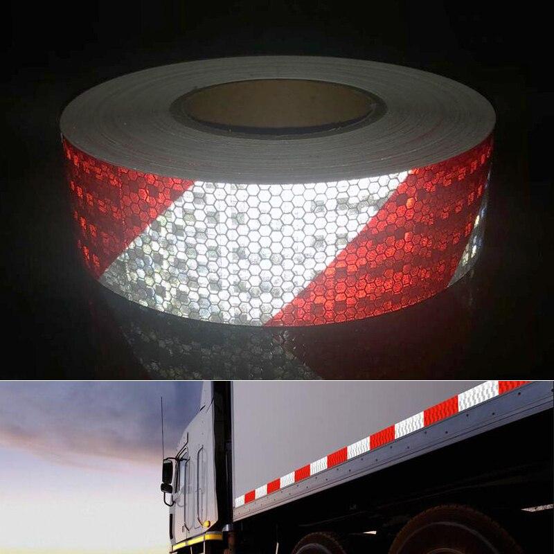 Автомобиль и мотоцикл предупреждающая лента светоотражающая пленка автомобиля стикер