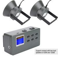 PDDHKK Hunting Decoy 35W 12V 150dB Double Speaker MP3 Player Birds Decoy Bird Caller 182 Sounds Outdoor Hunting Desert Machine