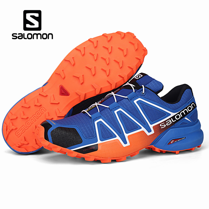 Salomon Speedcross 4 Men Shoes Outdoor Sport Athletic Zapatillas Hombre Speed Cross CS Male Solomon Mujer Sneaker Fencing Shoe