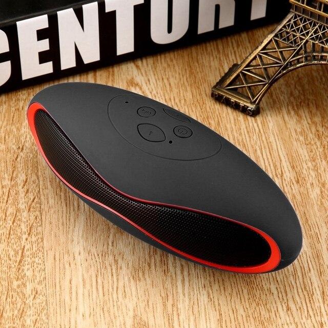 Draagbare Draadloze Bluetooth Speaker Mini 3D Geluid Systeem Stereo Muziek Luidspreker Tf Subwoofer Zwart