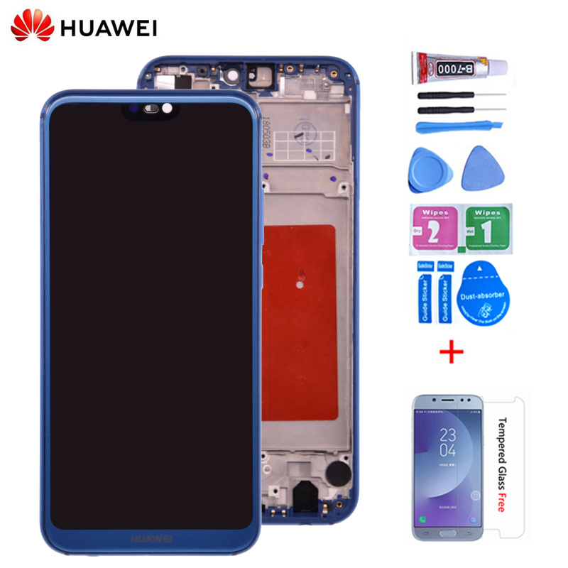 Original For HUAWEI P20 Lite Lcd Display Screen Touch Screen Pannel Digitizer Assembly ANE-LX1 ANE-LX3 Nova 3e LCD P20 Lite