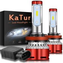 2pcs H11 H8 H9 LED Car Headlight Bulbs 16000Lm for Ford Focus 2 3 MK2 Fiesta Fusion Ranger Mondeo MK3 MK4 C-max S-max Kuga H4 H7