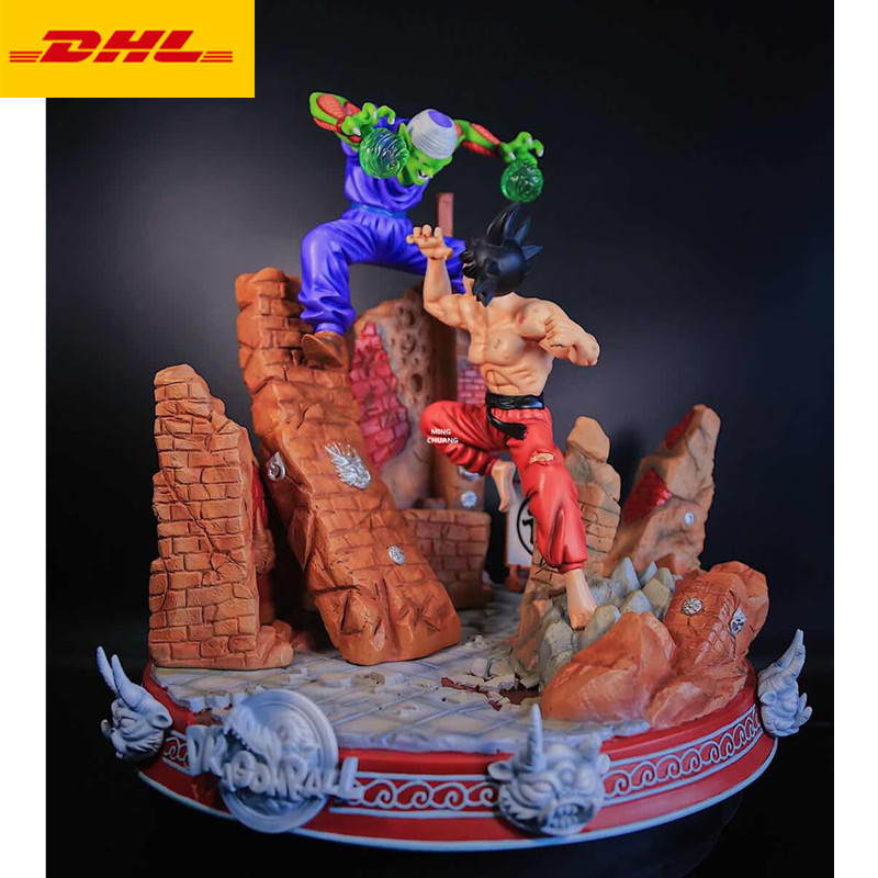11 Dragon Ball Z Statue Piccolo Bust Son Goku Kakarotto Full-Length Portrait Original Ver GK Action Figure Toy BOX 28CM X377 image