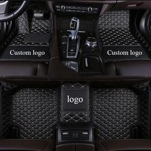 цена на Custom logo car floor mats for Toyota Land Cruiser 200 Prado150 120 Rav4 Corolla Avalon Highlander Camry Crown Car carpet 2020