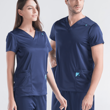 2020 New short/long sleeved Scrub set split brush uniform suit overalls