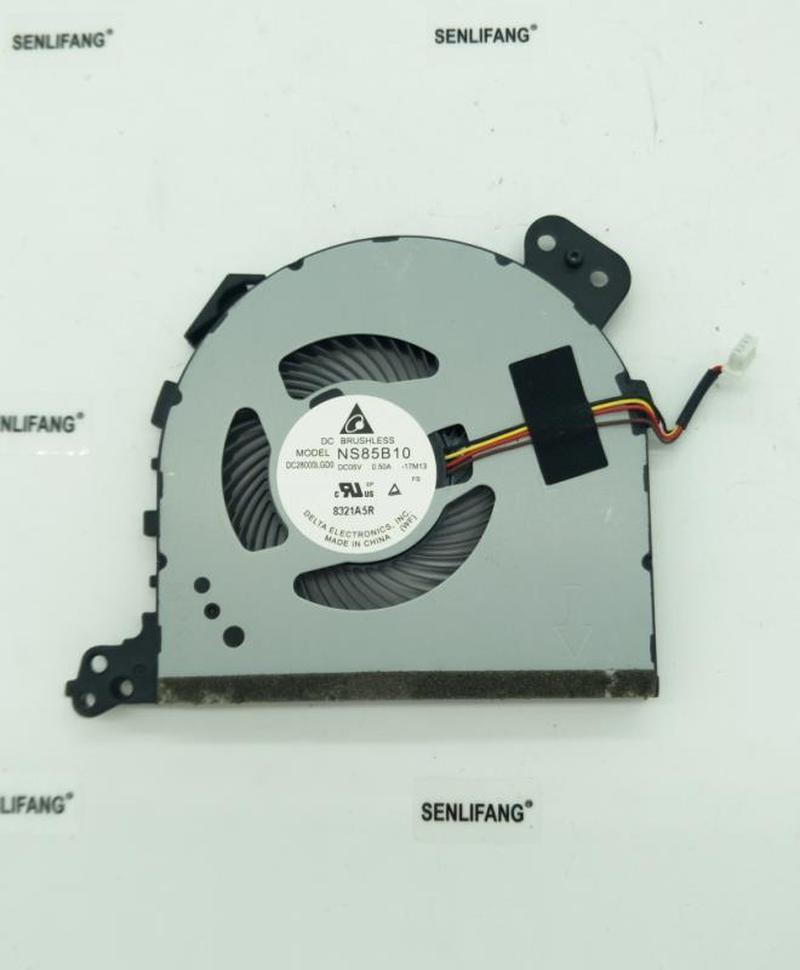 For Original Delta NS85B10-16K23 17M13 DC5V 0.50A DC28000DBD0 Notebook CPU Cooling Fan