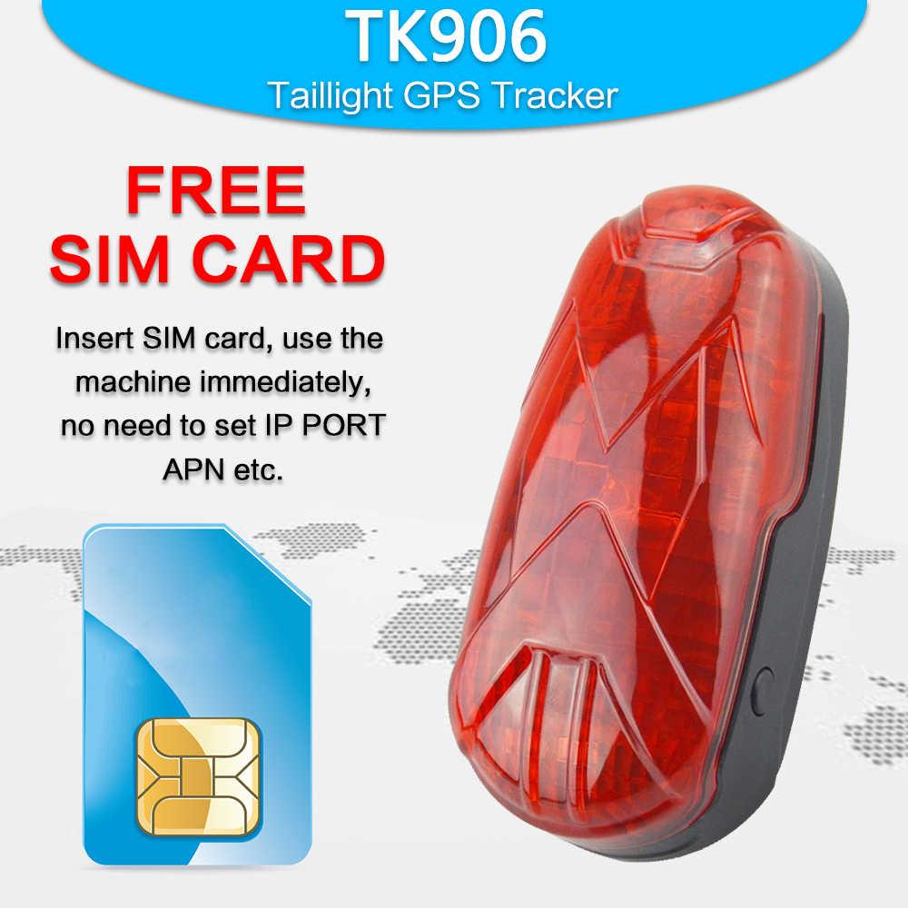 10 шт. TK-STAR GPS GPRS велосипедный трекер TK906 Overspeed оповещение Бесплатная платформа/приложение, без коробки