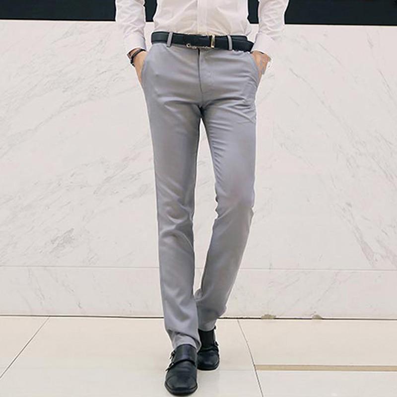 Suit Pants Men Dress Pants Men Business Trousers Man 2020 Fashion Male Straight Pants Solid Fit Smart Classic Trousers