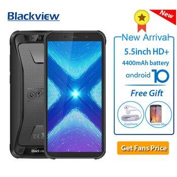 Перейти на Алиэкспресс и купить Blackview BV5500 Plus IP68 Водонепроницаемый 3 ГБ 32 ГБ прочный смартфон Android 10,0 5,5 ''4400 мАч 4G Открытый NFC OTG Мобильный телефон