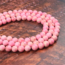 Fashion Emperor Fan Round Beads Loose Jewelry Stone 4/6/8/10 / 12mm Suitable For Making Jewelry DIY Bracelet Necklace