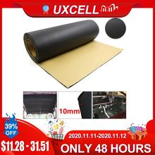 UXCELL 5mm/8mm/10mm עבה גומי קצף רכב אוטומטי דלת תא המטען צליל בידוד Deadener רעש מחצלת כרית