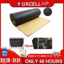 UXCELL, espuma de goma de 5mm/8mm/10mm de espesor, para puerta trasera de coche, almohadilla de tapete insonorizado con aislamiento acústico