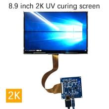 8.9 インチ 2560*1600 2 18k モニター用液晶画面 Aida64 cpu gpu コンピュータ系サブディスプレイプロジェクター uv 硬化 sla dlp 3D プリンタ