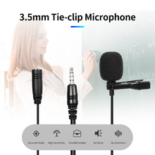 Omnidirectional Microphone Computer with Dual-3.5mm Laptop Tie-Clip