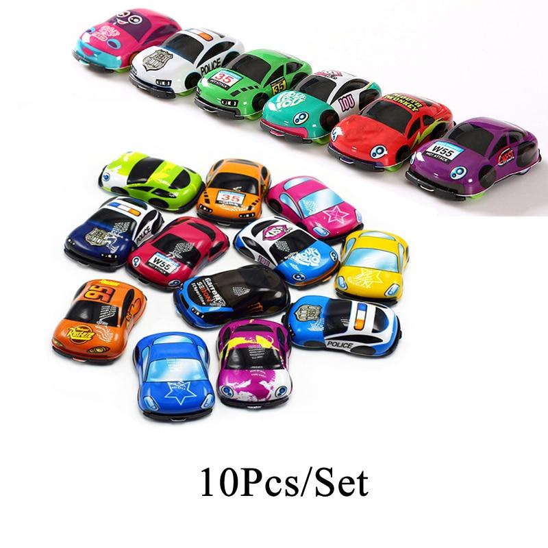 10Pcs racing car