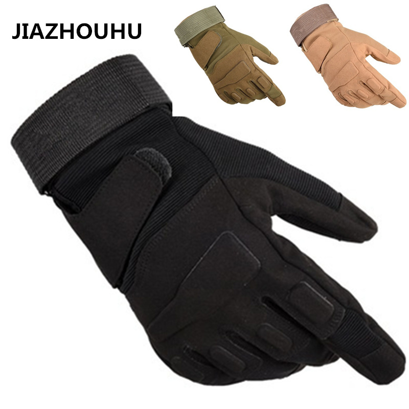 Us Military Tactical Gloves Men Women Outdoor Sports Gym Gloves Army Combat Motocycle Slip-resistant Full Finger Tactical Gloves