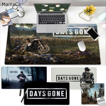 MaiYaCa Beautiful Anime Game Days Gone Large Mouse pad PC Computer mat Rubber PC Computer Gaming mousepad maiyaca hot sales anime steins gate natural rubber gaming mousepad desk mat large lockedge mousepad laptop pc computer mouse pad