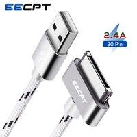 EECPT USB Kabel für iPhone 4 S 4 s iPad 2 3 iPod Nano iTouch 30 Pin Original Ladegerät Kabel nylon Geflochtene Draht Lade Datenkabel