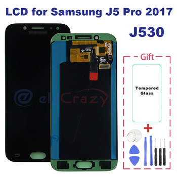 100% tested AMOLED Samsung Electronics Galaxy J5 2017 J5 Pro J530 J530M J530F SM-J530F  LCD display with touch screen assembly цена 2017