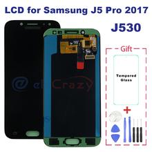 100 testowane AMOLED Samsung elektronika Galaxy J5 2017 J5 Pro J530 J530M J530F SM-J530F wyświetlacz LCD z ekranem dotykowym zgromadzenie tanie tanio Pojemnościowy ekran 1280x720 3 5 J5 2017 J5 Pro J530M J530F SM-J530F LCD i ekran dotykowy Digitizer