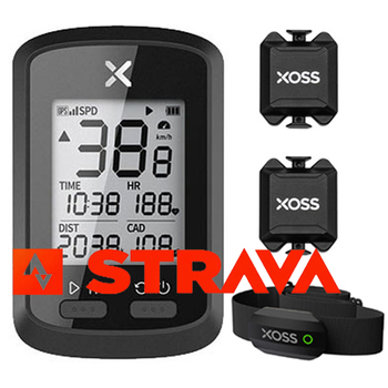 XOSS-velocímetro G + para bicicleta, dispositivo con GPS, Bluetooth, ANT + Magene, Sensor de velocidad de cadencia, montaje de cinturón, Wahoo, Garmin, BT