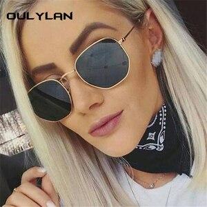Oulylan Fashion Sunglasses Women Brand D