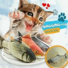 Реалистичная плюшевая игрушка кошачья мята, мягкий подарок для домашних животных, жевательная игрушка TT-best
