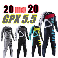 2020 GPX 5.5 Motocross Gear Set 4 Colors MX Moto Kits ATV Dirt Bike Jersey And Pant Supercross Enduro Jersey Set