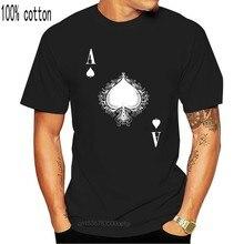 As de picas Iv T camisa Spade tarjeta Ace Poker Casino, Las Karte real Hold Em